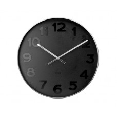 Nástenné hodiny Karlsson Mr. Black KA5631, 51cm