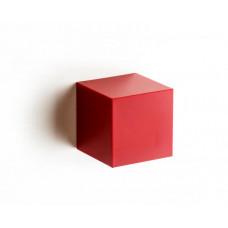 Nástenná krabička (uzatvorená) Qualy Pixel Cube, červená