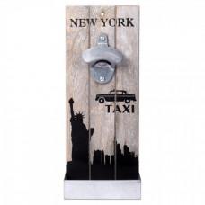 Nástenný otvárač fliaš, New York Taxi