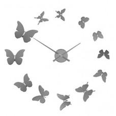 Nalepovacie nástenné hodiny 23511 Balvi Motýľe 60cm
