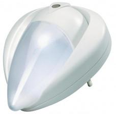 Nočné LED svietidlo so spínačom stmievania, 230v, 11cm