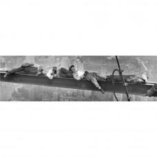 Obraz na plátne New York Oddychujúci robotníci, 36x118cm