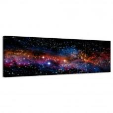 Obraz na plátne Panoráma, Hviezdy, 36x118cm