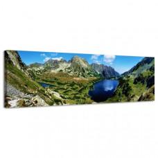 Obraz na plátne Panoráma, Pleso, 36x118cm