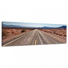 Obraz na plátne Panoráma, Route 66, 36x118cm