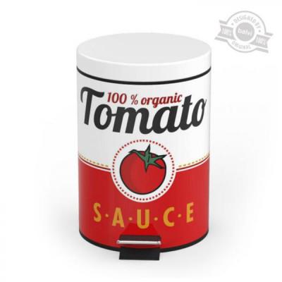 Odpadkový kôš Balvi Tomato Sauce, 5L