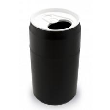 Odpadkový kôš Qualy Capsule Can, čierny