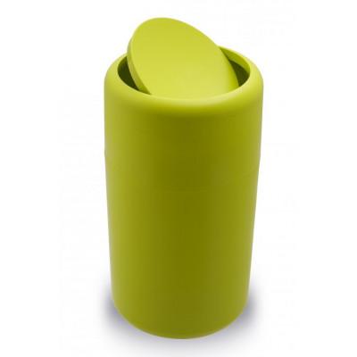 Odpadkový kôš Qualy Capsule Flip, zelený