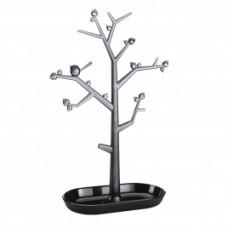 PI: P L držiak strom na drobnosti, čierna, ozdoby transp. antrac