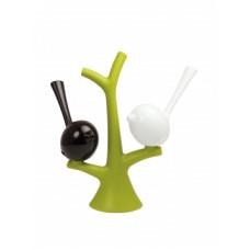 PI: P soľnička, korenička so stromom, zelený strom, b/č