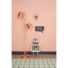 Podlahová lampa Leitmotiv Rubi 150cm, copper