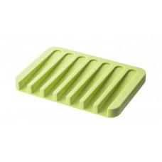 Podložka pod mydlo Yamazaki Flow, zelená
