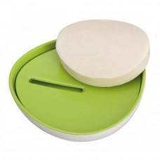 Podložka pod mydlo Wenko Alcamo, zelený