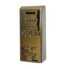 Pokladnička Zlatá tehlička, 21cm