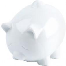 Pokladnička prasiatko White 12cm