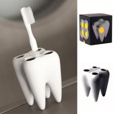 Porcelánový držiak zubných kefiek Tooth