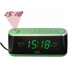 Projekčný budík do siete s rádiom, JVD SB97.2