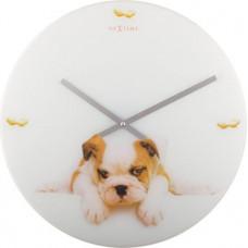 Puppy nástenné hodiny Nextime 43cm