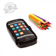 Puzdro na ceruzky BALVI Pop App, čierne