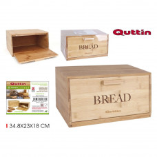 Bambusový chlebník Quttin 2636, 34,8 cm