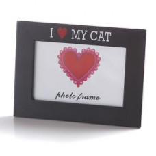 Rám na fotografie I LOVE MY CAT 10x15cm