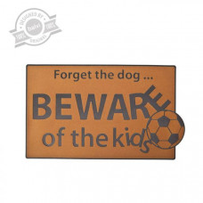 Rohožka BALVI Beware Of The Kids  45x75cm