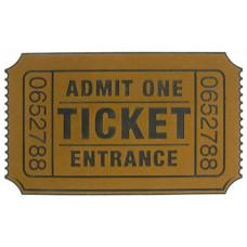 Rohožka BALVI Ticket 74x44cm