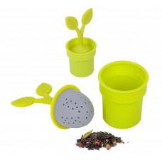 Silikónové čajové sitko BALVI Flower Pot