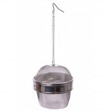 Sitko na čaj / korenie, nerezové, 9 cm