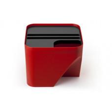 Stohovateľný odpadkový kôš Qualy Block 20, červený