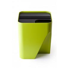 Stohovateľný odpadkový kôš Qualy Block 30, zelený