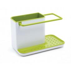 Stojanček na čistiace prostriedky Caddy biely/ zelený