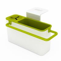 Stojanček na čistiace prostriedky JOSEPH Sink Aid ™ biely/zelený
