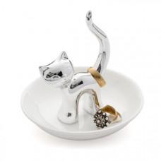 Stojanček na prstienky Balvi Mačka