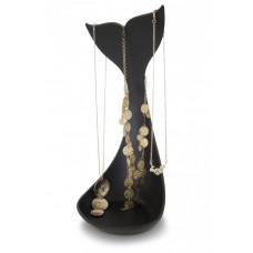 Stojan na šperky J-ME Whale Jewellery Dish, čierna