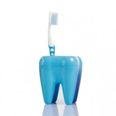 Stojan na kefky zub modrý