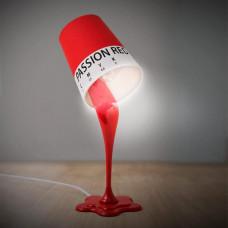 Stolná lampa Balvi CMYK, červená