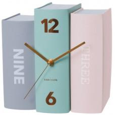 Stolové hodiny Karlsson 5515 pastell 20 cm