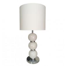 Stolová lampa Beads white, 79cm