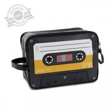 Taštička na toaletné potreby Balvi Cassette, žltá