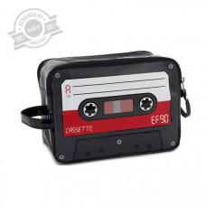 Taštička na toaletné potreby Balvi Cassette, červená