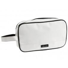 Toaletná taška Brink, matná biela