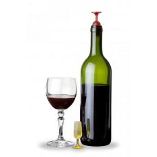 Uzáver vína Qualy TWIN, červený