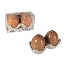Vaječná soľnička a korenička