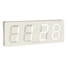 Dizajnové nástenné hodiny 3059wi Nextime White D 52cm