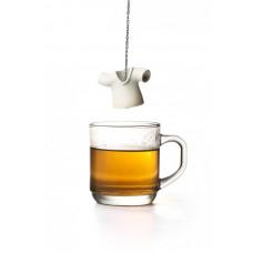 Čajové sitko Qualy Tea Shirt, biele