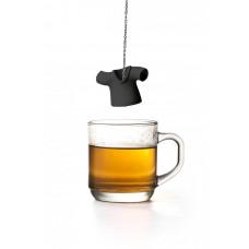 Čajové sitko Qualy Tea Shirt, čierne