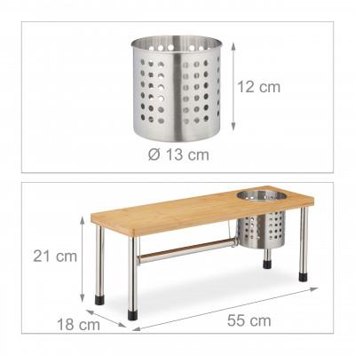 Kuchynský organizér s držiakom na papierové utierky RD7488