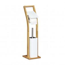 WC kefa s držiakom na papier Bambus RD0321