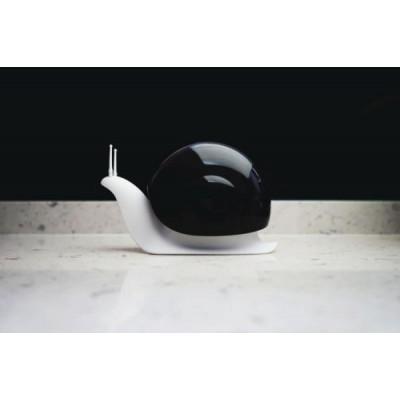 Dávkovač mýdla QUALY Escar, čierny